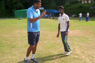 FAST BOWLERS CAMP AT KOTTAYAM BY ABY KURUVILA